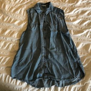 Forever21 Chambray Top